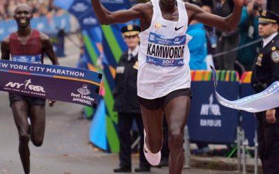 Kamworor y Flanagan ganan el maratón de Nueva York