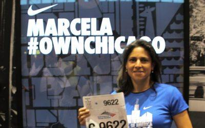 """Marcela Rubio – Chicago 2013 """"Chicago es prácticamente plana, solo te meten susto porque es la ciudad del viento"""""""