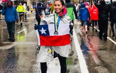 Los chilenos más rápidos en el Maratón de Boston 2018