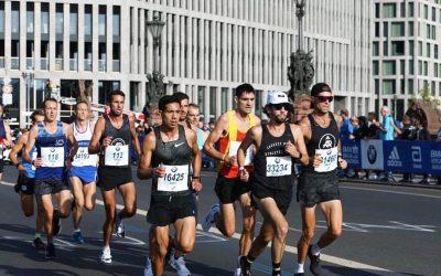 Los chilenos más rápidos en el Maratón de Berlin 2018