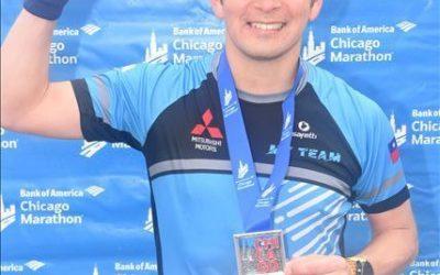 """Christian Oros – Chicago 2018 """" Mi noveno maratón… volver a correr el Maratón de Chicago"""""""