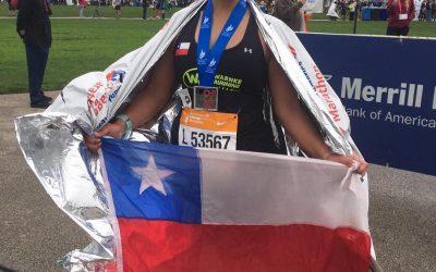 """Karen Córdova – Chicago 2018 """"Experiencia de mi primer Majors… Maratón de Chicago"""""""