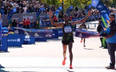 Lelisa Desisa gana el Maratón de Nueva York 2018