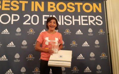 La chilena de 67 años que sacó segundo lugar en la categoría senior en el Maratón de Boston