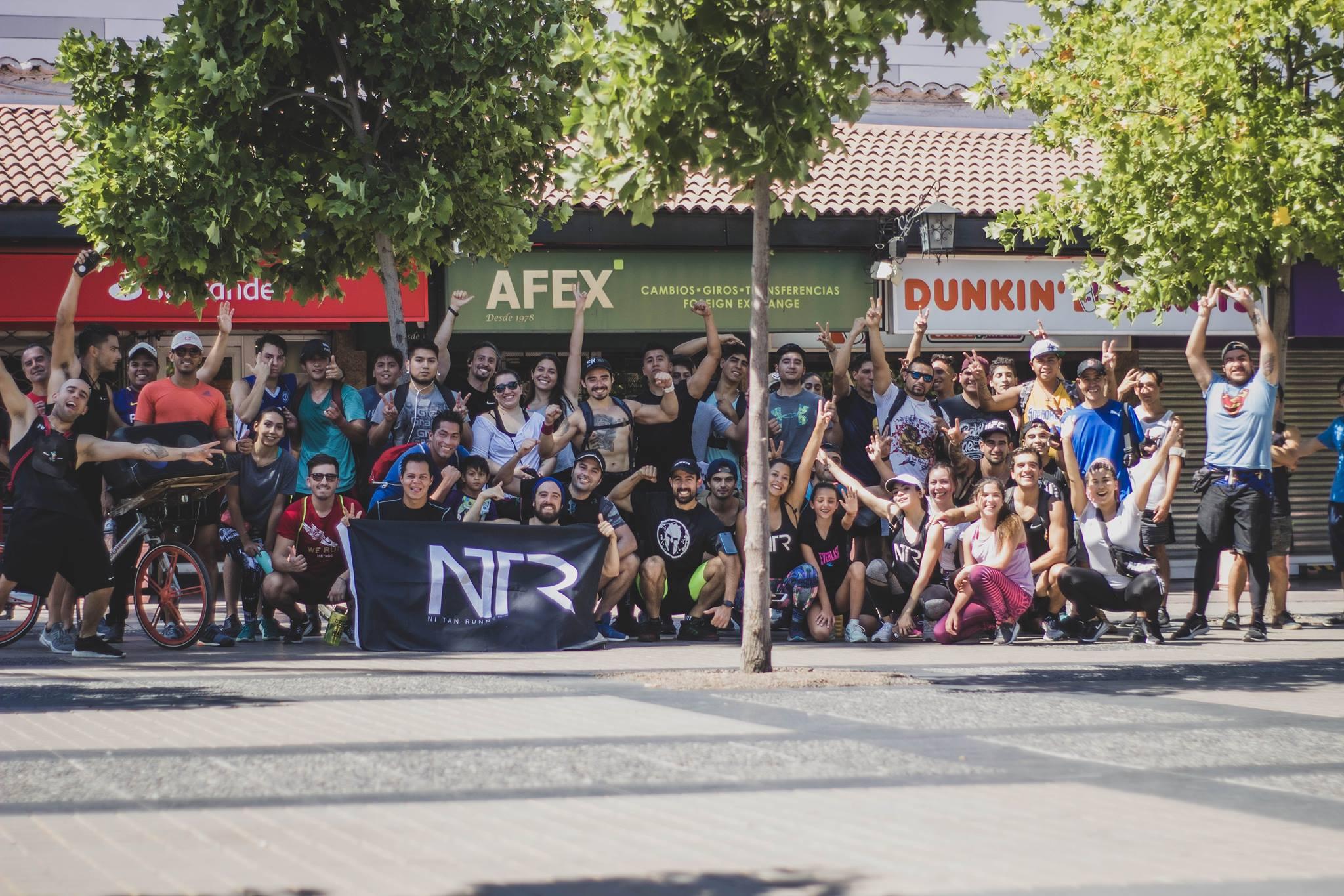 EL RUNNING Y LA CALESTENIA SE UNIERON EN LA PASADA SESION DE NTR
