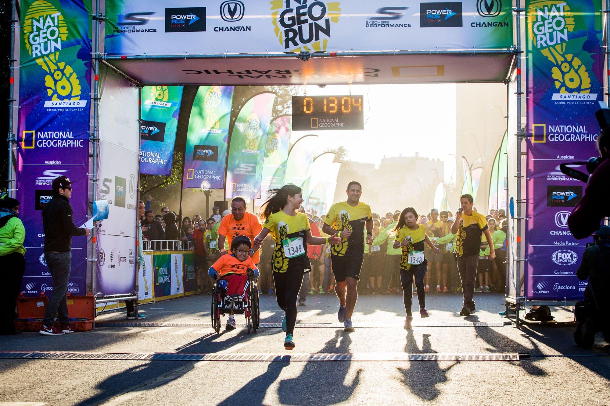Todo listo para Nat Geo Run 2019