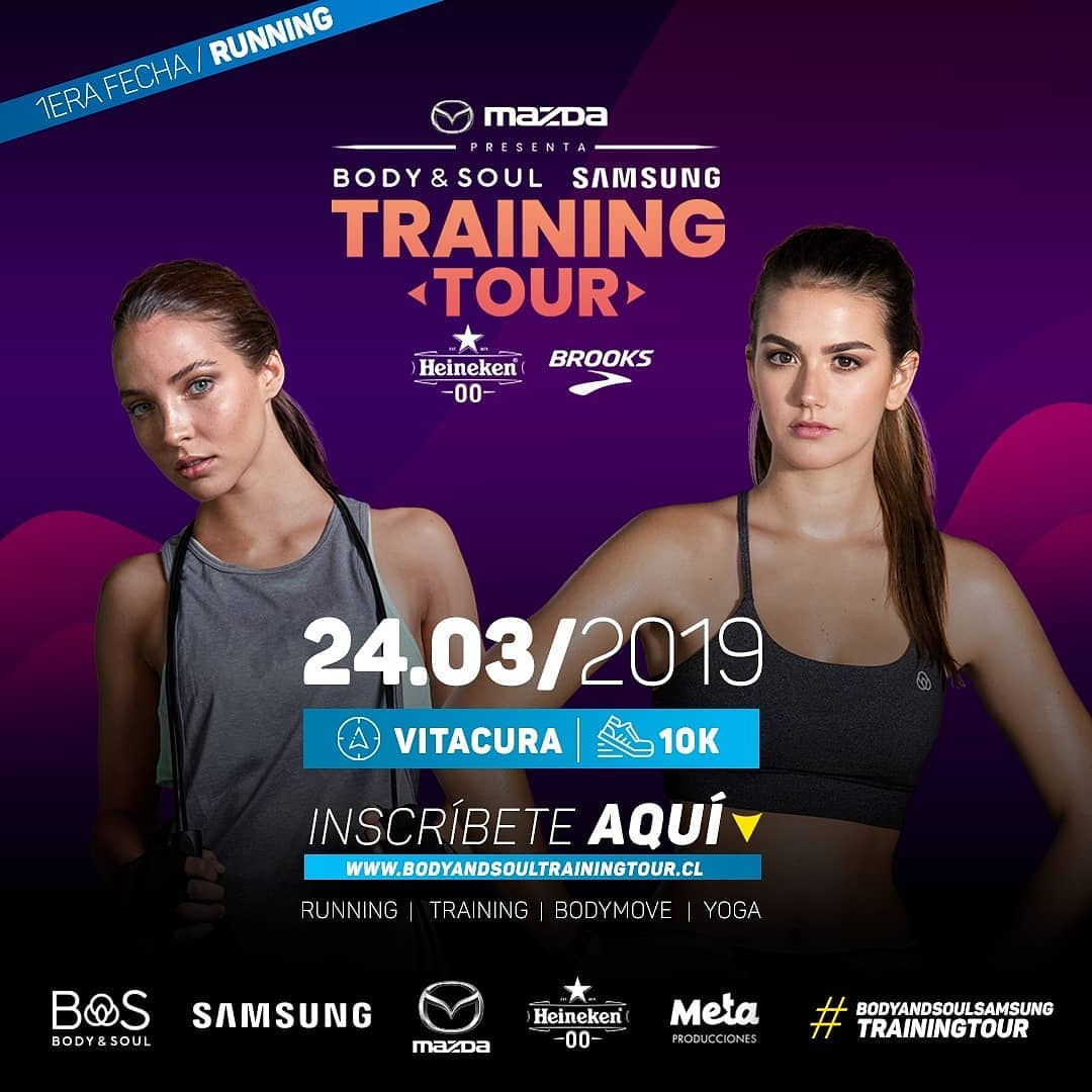 Participa por una inscripción para correr Training Tour 2019
