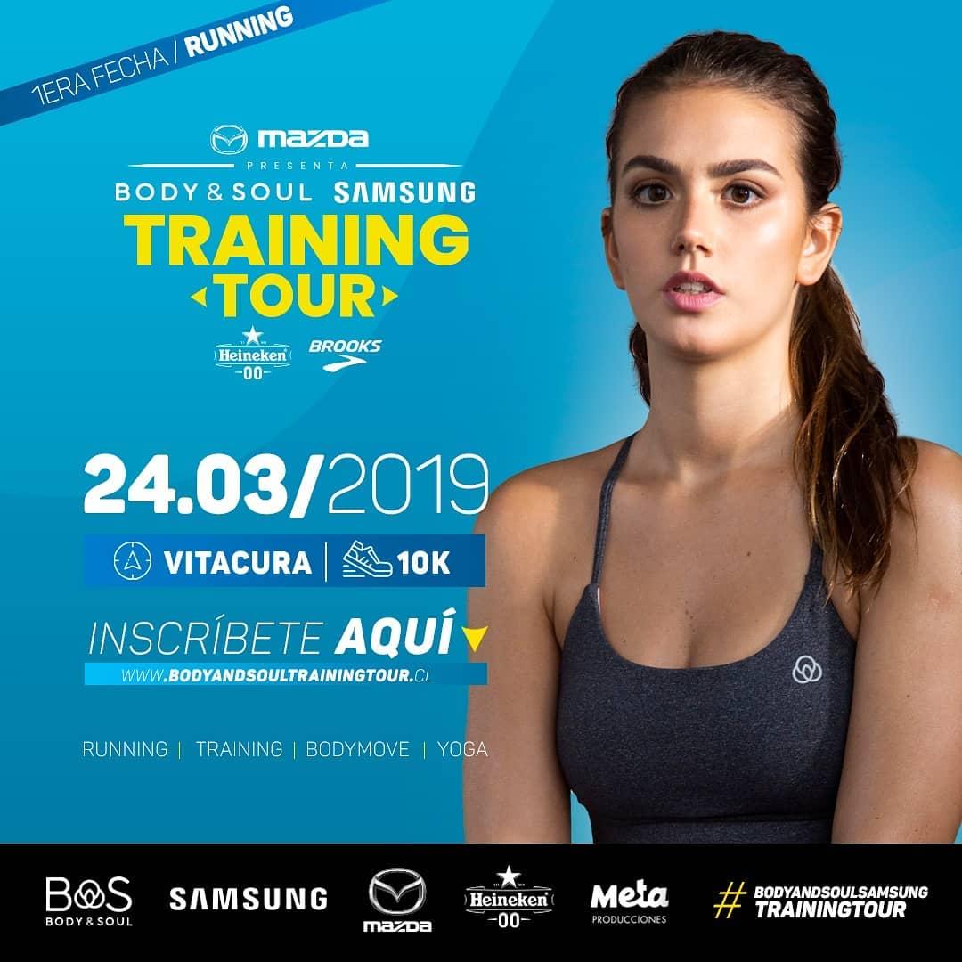 Este domingo se da inicio al Body & Soul Training Tour 2019