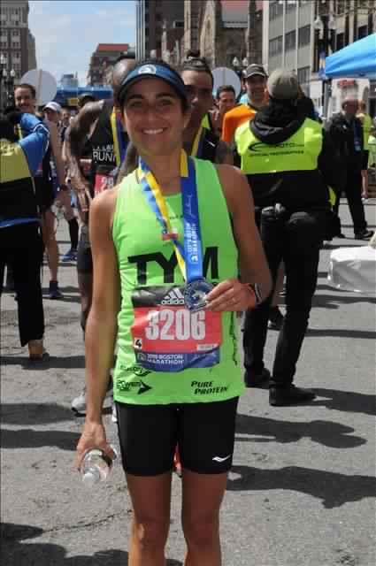 Catalina Langlois fue la mejor latinoamericana del Maratón de Boston 2019