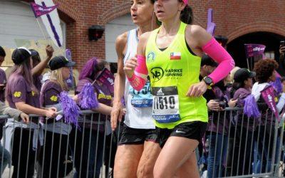 """Cecilia Varela: """"Maratón de Boston 2019: La maratón más técnica y dura""""."""
