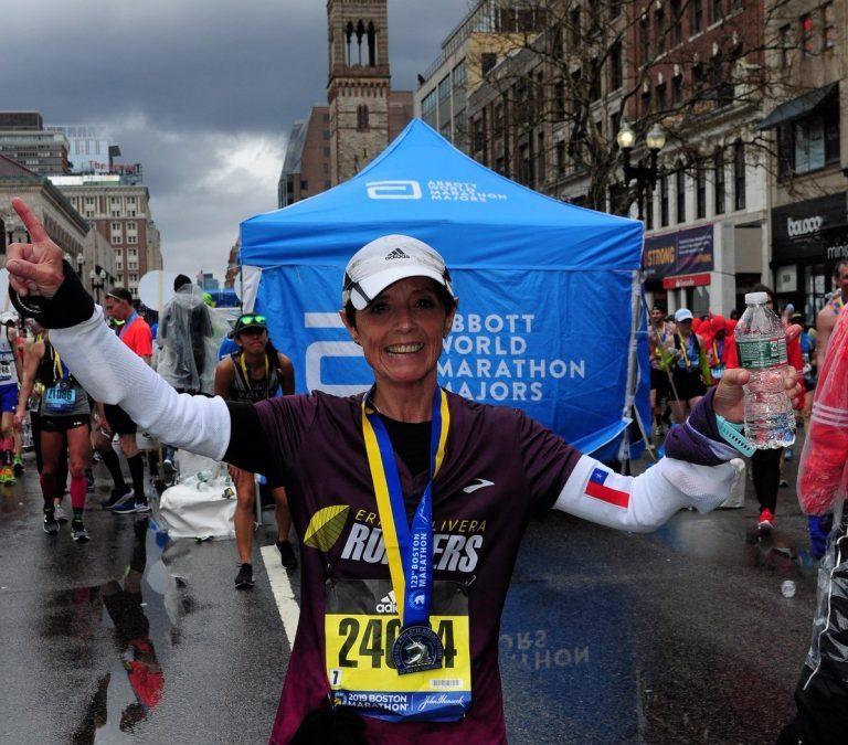 """Leticia García: """"Boston 2019, mi mejor maratón"""""""