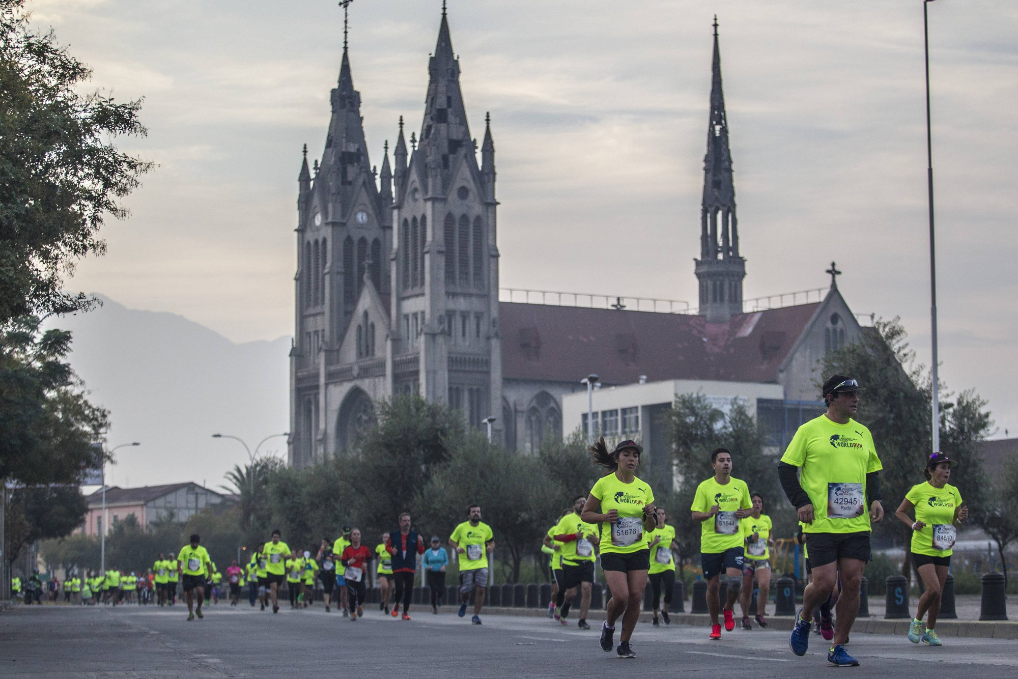 Wings for Life World Run tendrá su partida frente a La Moneda