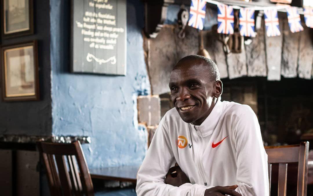 Eliud Kipchoge planea correr los seis maratones majors antes de retirarse