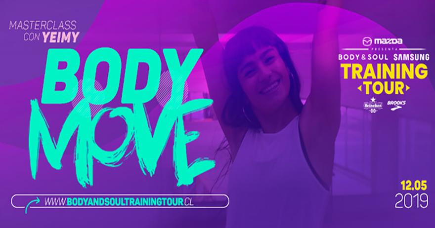 Celebra el Día de la Madre en la segunda fecha del Body & Soul Samsung Training Tour