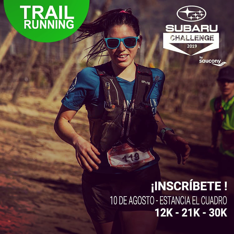 Ya están abiertas las inscripciones para el Trail Subaru Challenge by Saucony