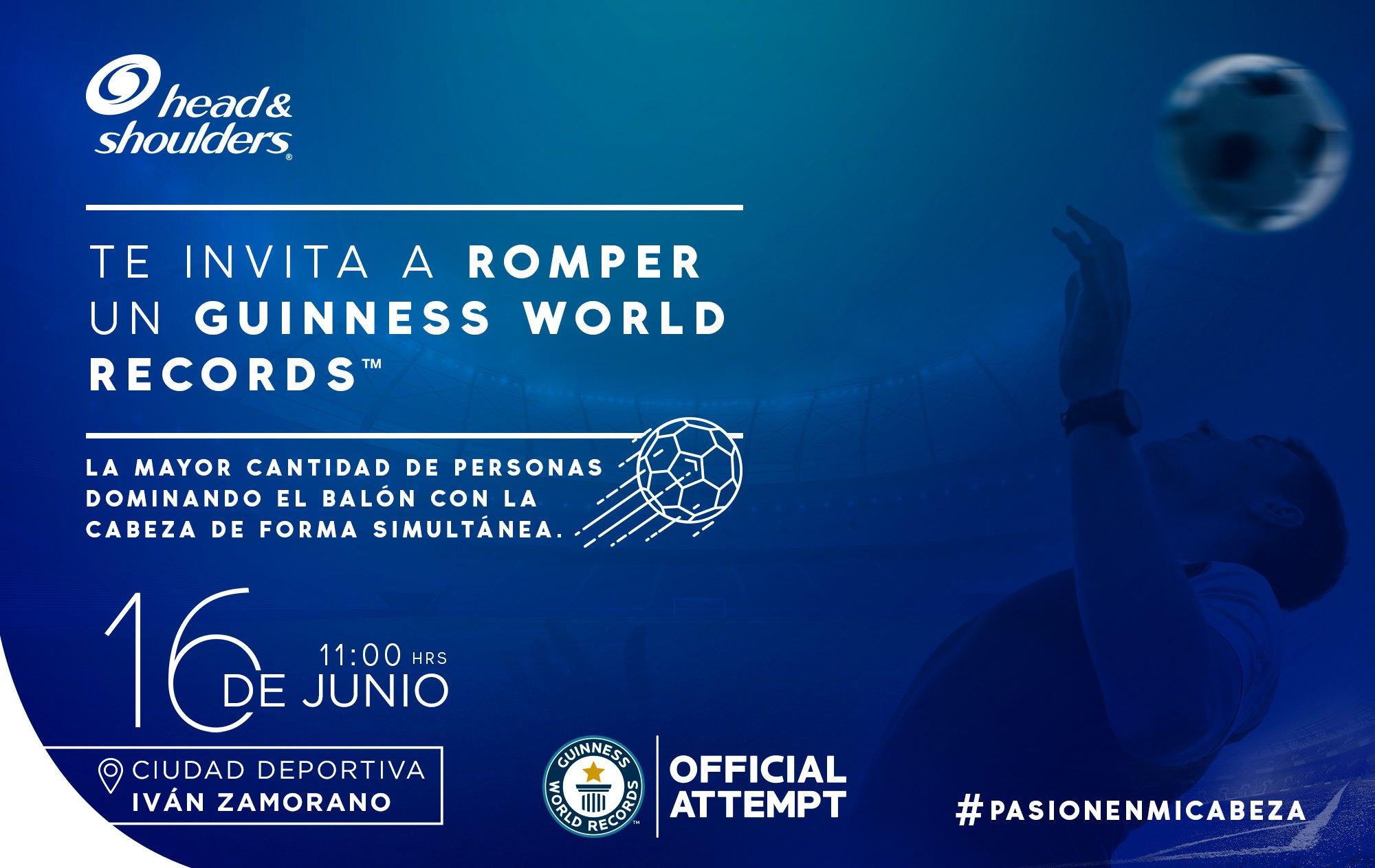 Chile busca romper su primer récord Guinness de destreza en el fútbol