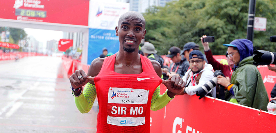 Mo Farah regresa a Chicago para defender su título