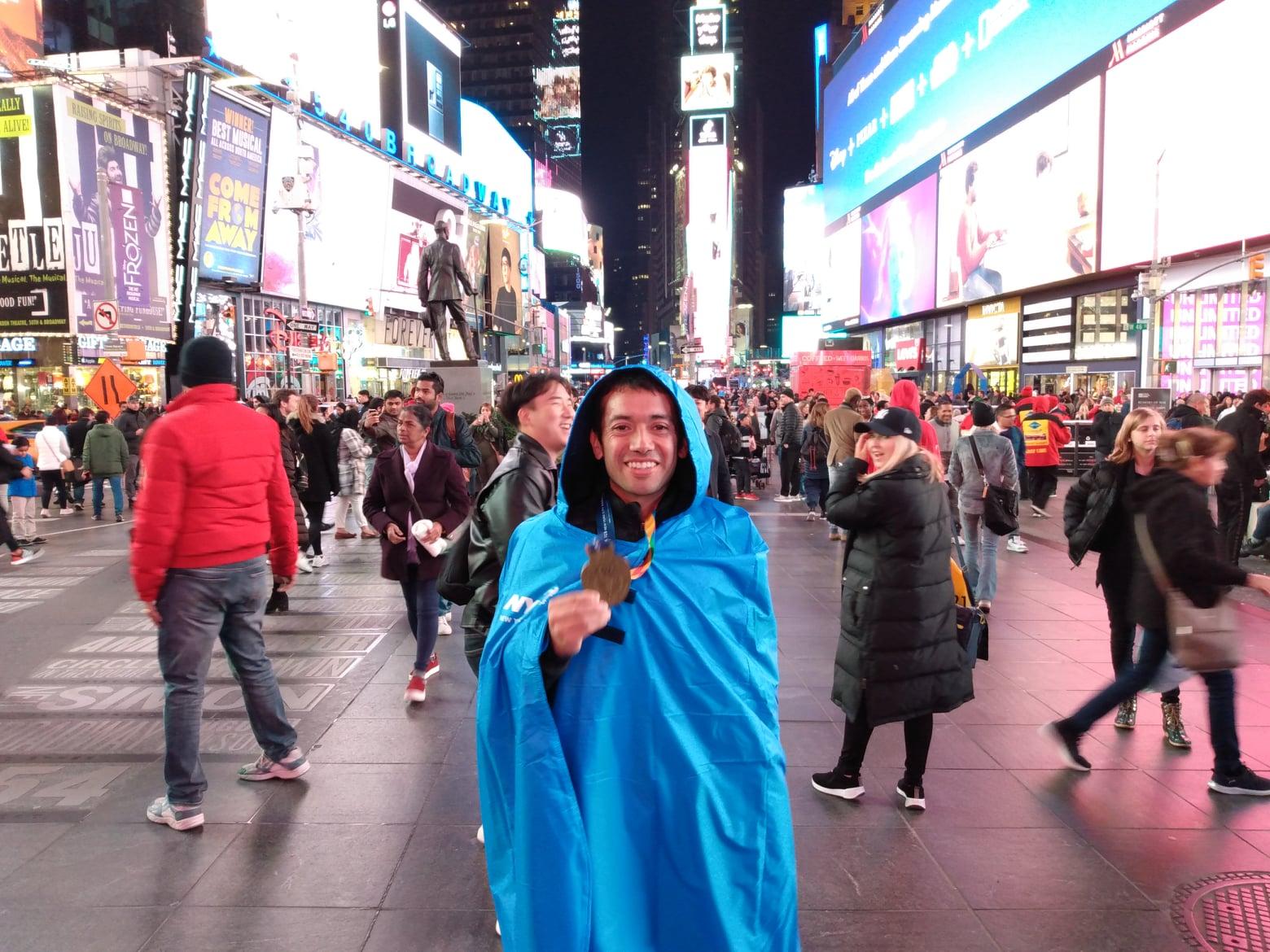 """MARCO BUSTAMANTE – NUEVA YORK 2019: """"SENTI TODO EL MAGNETISMO DE PARTICIPAR EN ESTE MARATON, DE MORDER LA GRAN MANZANA"""""""