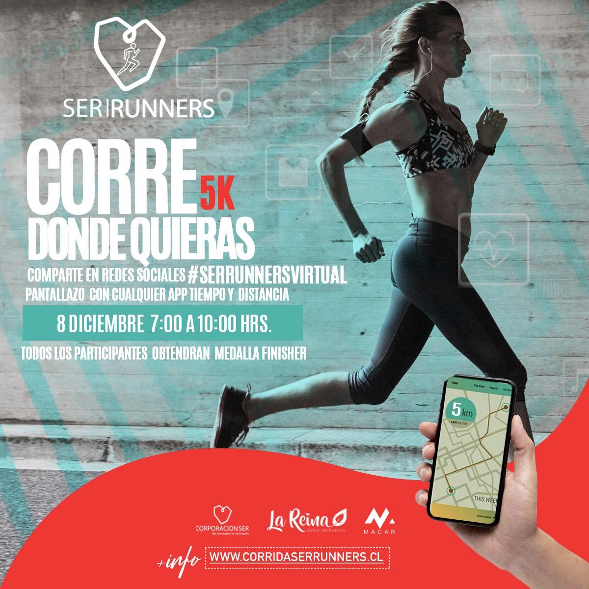 Participa en los 5K virtules Ser Runners