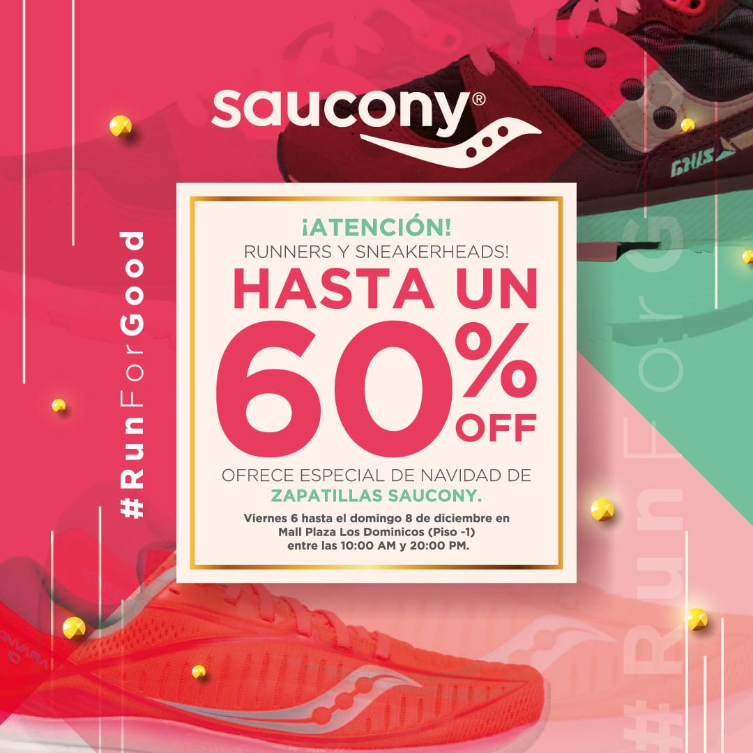 ¡ATENCION RUNNERS Y SNEAKERHEADS!  HASTA UN 60% OFF OFRECE ESPECIAL DE NAVIDAD DE ZAPATILLAS SAUCONY