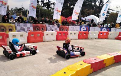EL SHOW CAR DE LA FORMULA E SE ESTRENA EN CHILE EN ABB ELISEO E-KARTS