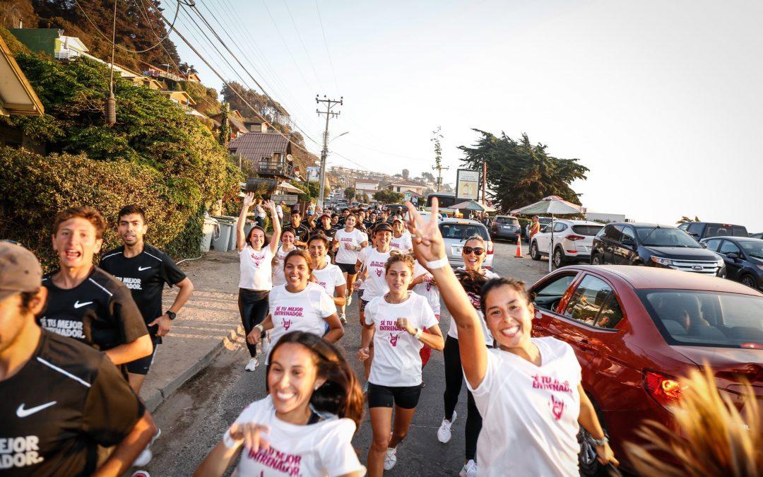 RUNNERS ENTRENARON EN MAITENCILLO JUNTO CON LAS NUEVAS NIKE REACT INFINITY RUN