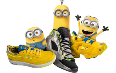 "YA ESTA DISPONIBLE EN CHILE LA COLECCION ""MINIONS: THE RISE OF GRU"" DE REEBOK"