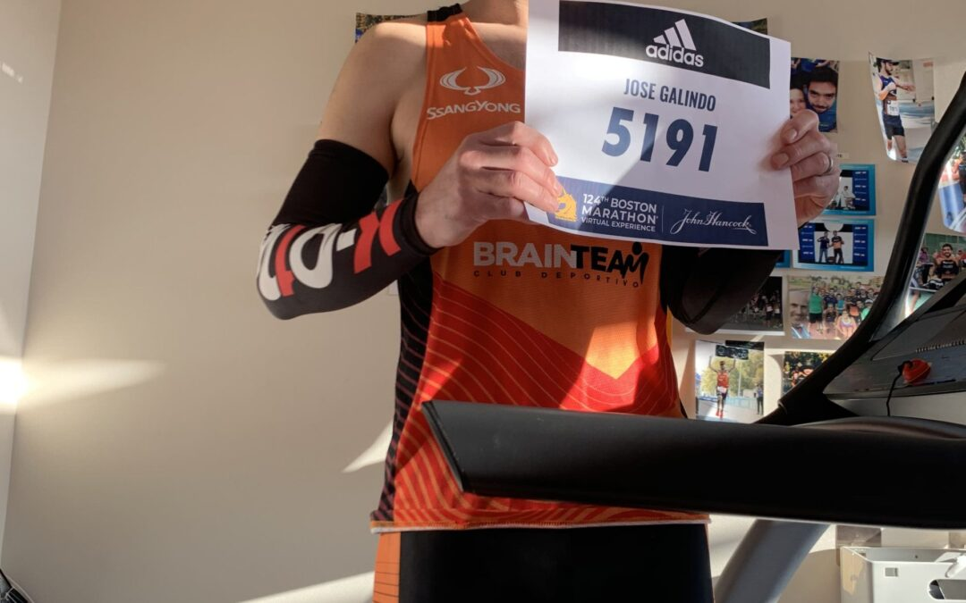 JOSE LUIS GALINDO: RACE REPORT DE UN MARATON VIRTUAL