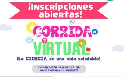 """CORRIDA VIRTUAL: """"LA CIENCIA DE UNA VIDA SALUDABLE"""""""