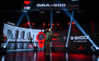 G-SHOCK PRESENTA EL NUEVO MODELO DEPORTIVO GBA-900 A TRAVÉS DE DINÁMICO EVENTO DIGITAL