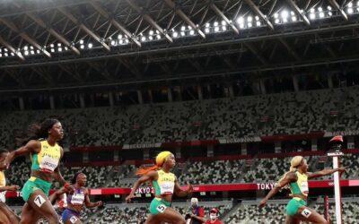 JAMAICA SE IMPONE EN LOS 100 METROS DE LA MANO DE ELAINE THOMPSON-HERAH