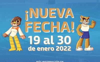 NUEVA FECHA PARA EL SUDAMERICANO MÁSTER ODESUR SANTIAGO 2021